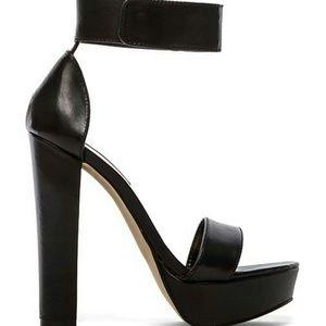 Steve Madden Black Platform Heels 8